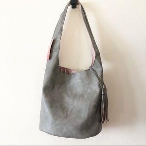 NWT American Eagle Gray Hobo Bag
